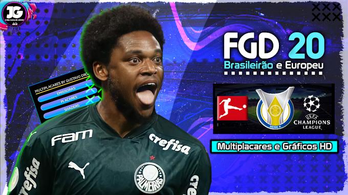 BAIXAR FTS 21 APK + OBB + DATA (FGD 20) BRASILEIRÃO (BY: JUNIOR GAMES)