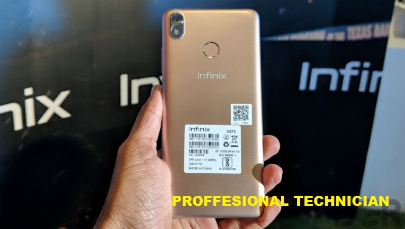 INFINIX HOT S3 X573 FACTORY SIGNED FIRMWARE FLASHFILE 100
