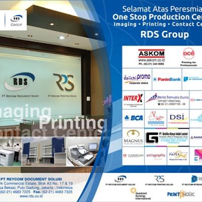 Manfaat Menggunakan Jasa Printing RDS