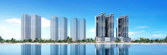 Phối cảnh dự án La Luna Resort