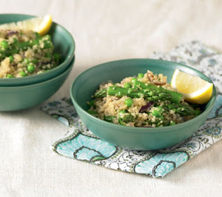 Quinoa with Asparagus Recipe