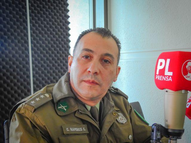 Capitán de Carabineros Claudio Ramirez