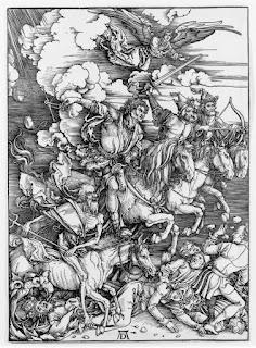Los cuatro jinetes del Apocalipsis - Albrecht Dürer