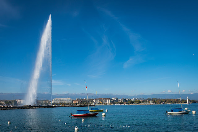 Jet d'eau Geneve, october 2016