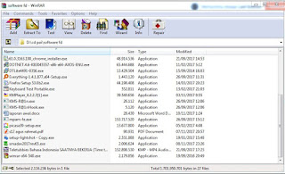 Interface WinRAR 5.61 Full Version Free Download