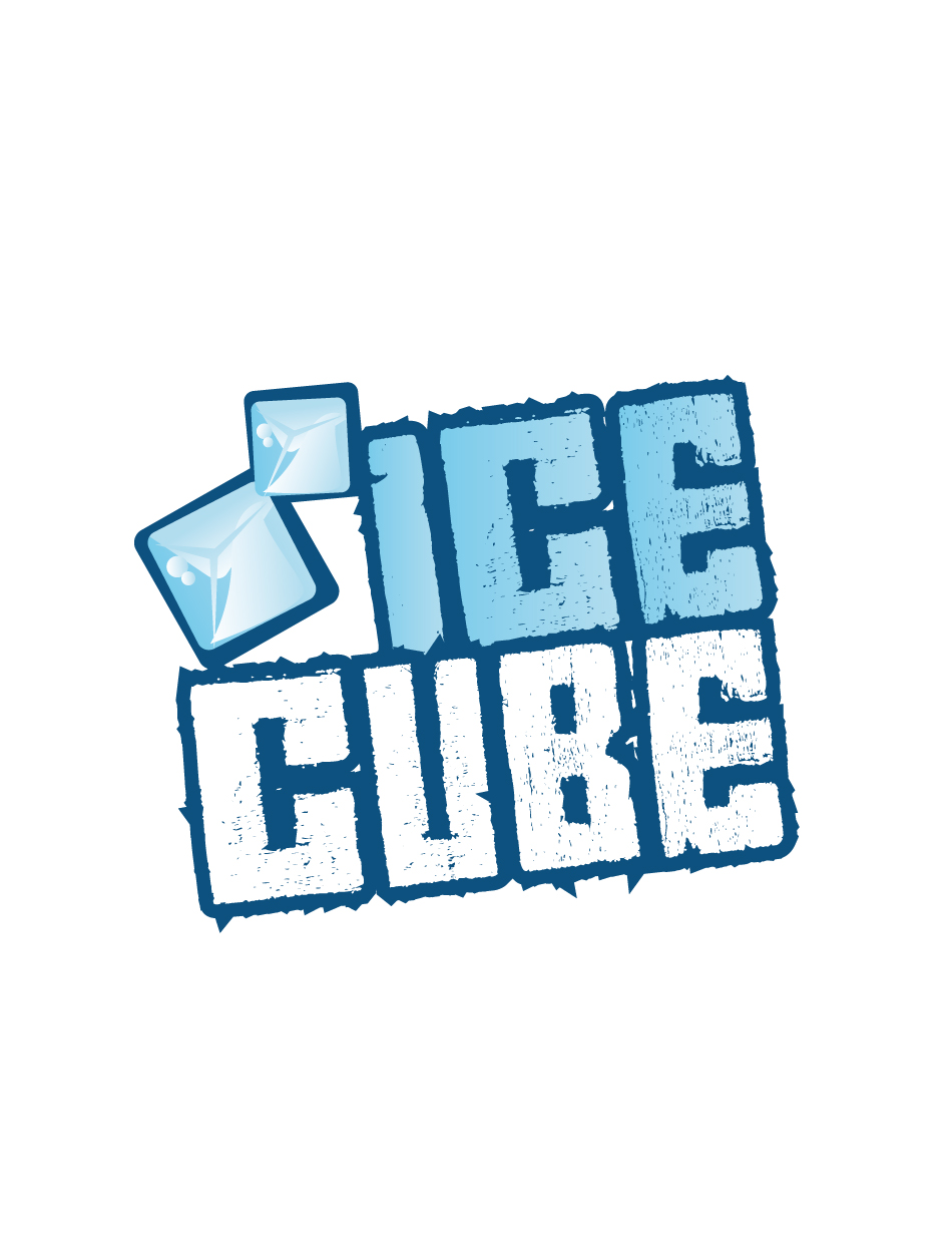 Ice Cube logo studies | make it work