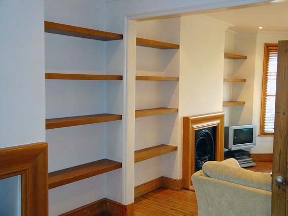Custom Wood Floating Shelves Ayanahouse