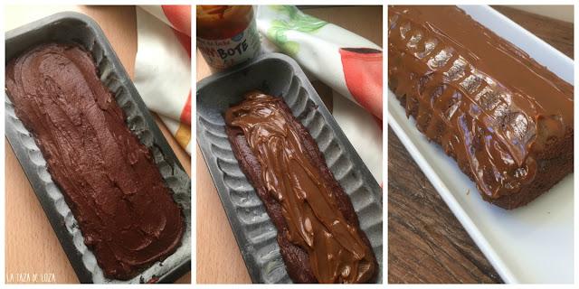 tres-pasos-del-bizcocho-de-chocolate-relleno-de-dulce-de-leche