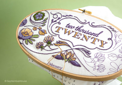2020 DIY Fabric Calendar kits for embroidery