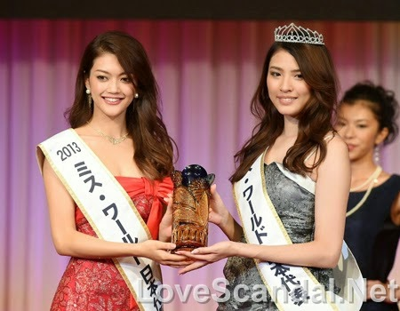 Miss World Japan 2014 Hikaru Kawai Sex Scandal