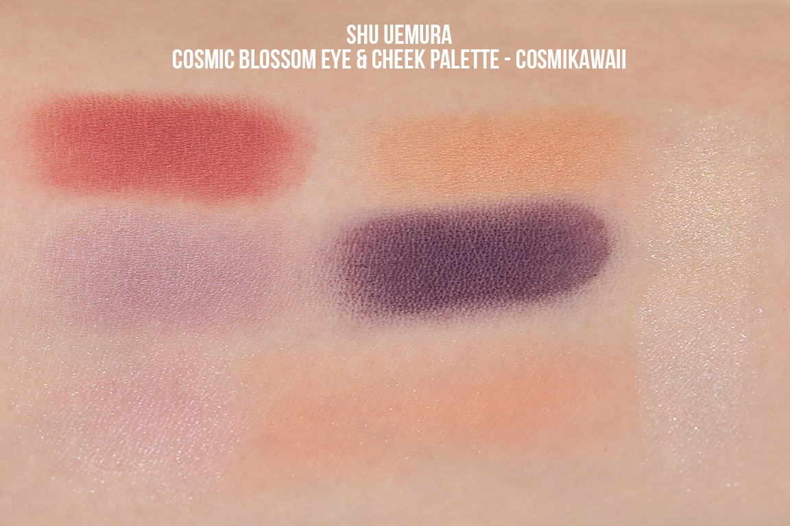 Review Swatches Shu Uemura Murakami Holiday Collection From