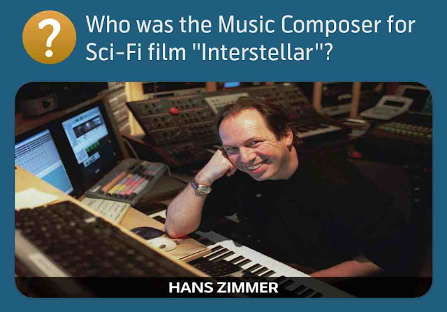 Who was the Music Composer for Sci-Fi film ''Interstellar''?