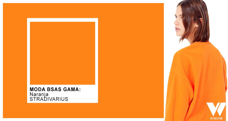 Naranja colores de moda otoño invierno 2021
