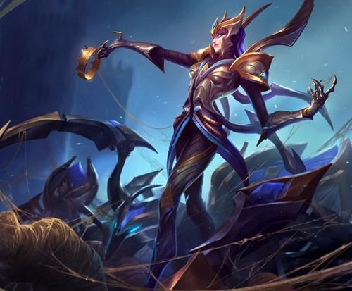 Elise sẽ mạnh hơn vào cuối trận chiến.