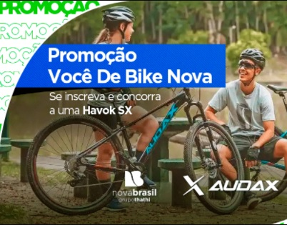 Você de Bike Nova Brasil FM Promoção 2021