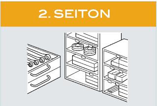 SEITON (Sorting - Ngăn nắp)