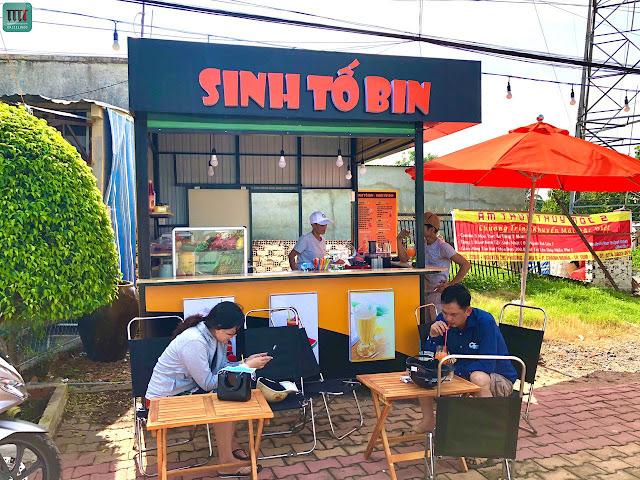 Kiot sinh tố, trà sữa, cafe rẻ nhất tại Thủ Dầu Một