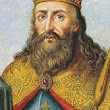 When was Charlemagne born?