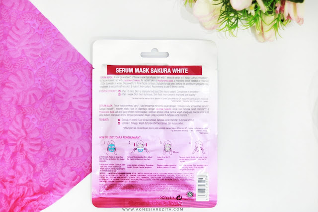Garnier Sakura White Serum Mask