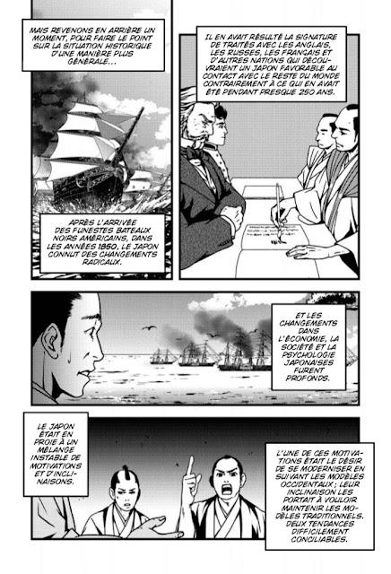 Le crépuscule des Samouraïs - la rébellion de Satsuma chez Graph Zeppelin extrait 2