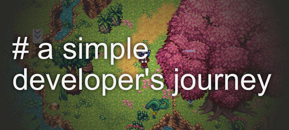 A simple developer's journey