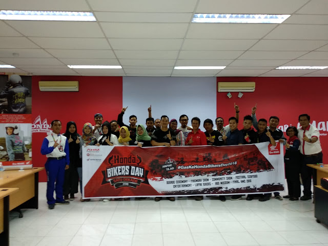 Bikers AHMP dibekali Basic Life Support dan Safety Riding