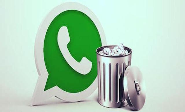 WhatsApp habilitó la opción para borrar mensajes enviados