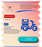 Lowongan Sales Motoris Bro's Kitchen Semarang