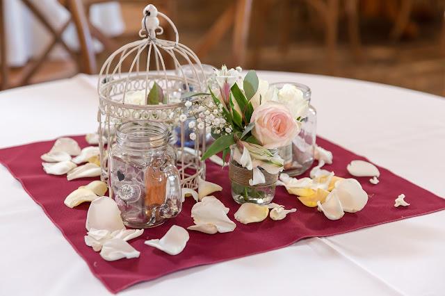 Shenandoah Mill Wedding Table Decor in Gilbert AZ