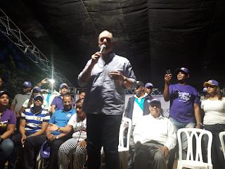 José del Castillo y Ñiñin reiteran irán al Congreso a trabajar por Barahona; reciben apoyo contundente del sector Palmarito