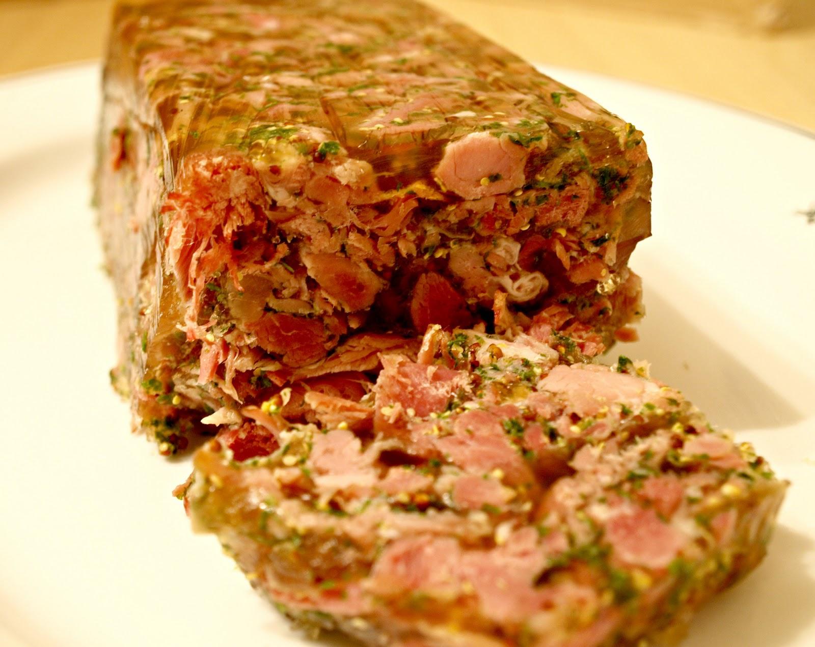 Mark's Veg Plot: Ham Hock and Mustard Terrine