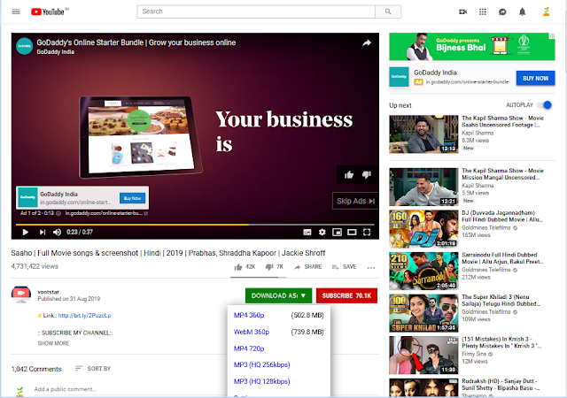 Save From Youtube Videos For Free