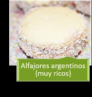 ALFAJORES ARGENTINOS MUY RICOS