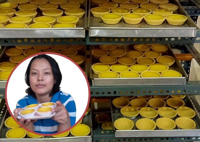 Dari Hobi Yang dijadikan Sumber Rejeki, Mantan BMI Hongkong Ini Sukses Buka Usaha Egg Tart