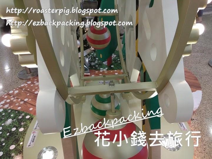 港鐵粉嶺站商場聖誕燈飾