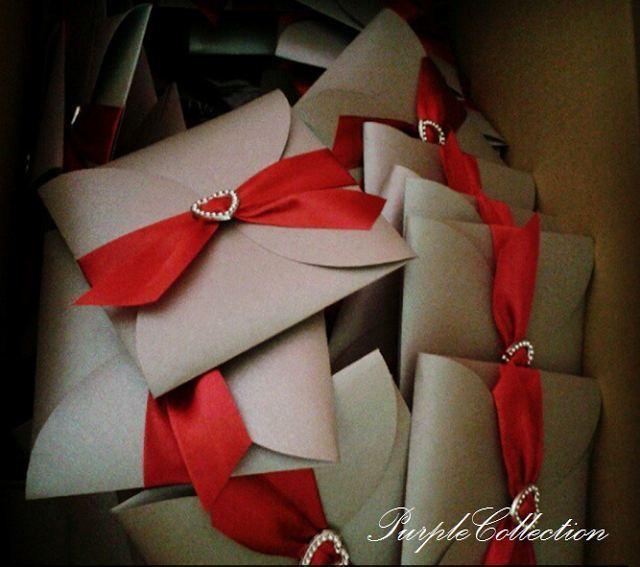 Grey Petal Fold Wedding Invitation Cards, 11cm x 11cm, Square Card, Grey and Maroon Petal Fold Wedding Card, Petal Fold Card, Metallic Grey Card Stock, grey, petal, fold, wedding, invitations, cards, invitation cards, grey petal fold, wedding dinner, red ribbon, diamond love