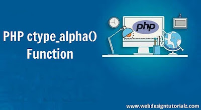 PHP ctype_alpha() Function
