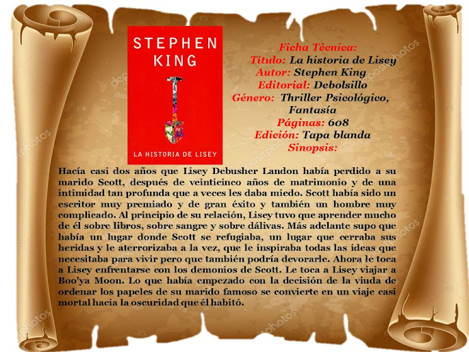 "Reseña: ""La Historia de Lisey"" - Stephen King"