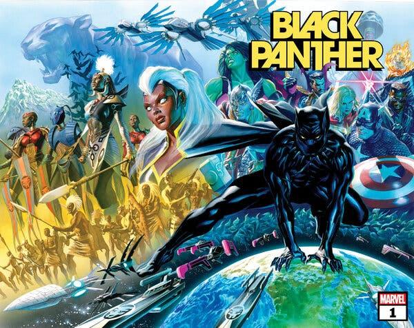Marvel Comics lanza el tráiler de su nueva serie 'Black Panther'