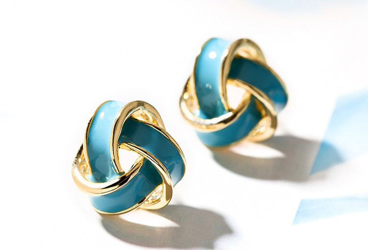 圓夢滴釉耳環