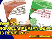 Unduh KI KD Muatan Lokal Bahasa Sunda Kurikulum 2013