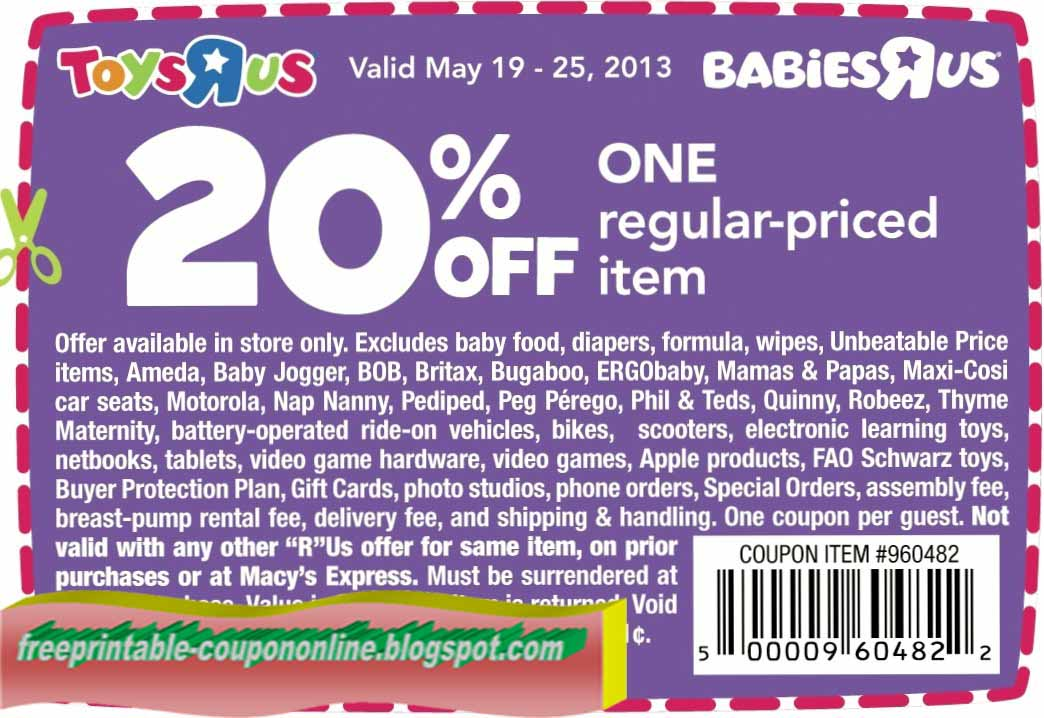 image about Toys R Us Printable Coupon known as Toys r us coupon code vakantiebeurs korting