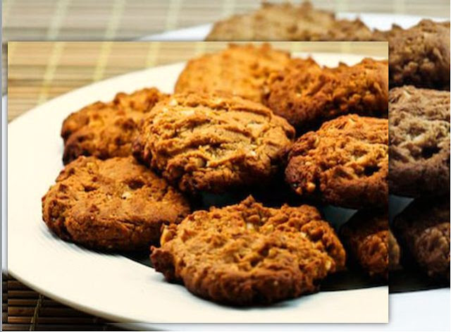 Resep Almond Chip Cookies