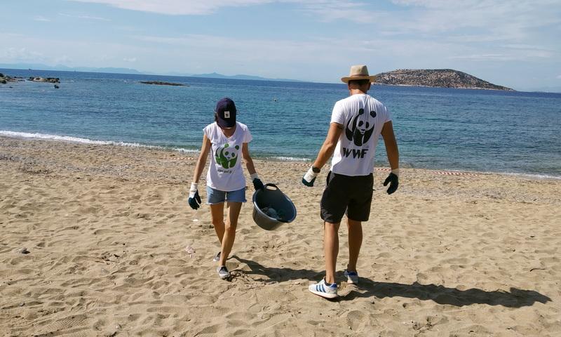 Χιλιάδες πλαστικά κατακλύζουν τις ελληνικές παραλίες - Υιοθέτησε μία παραλία