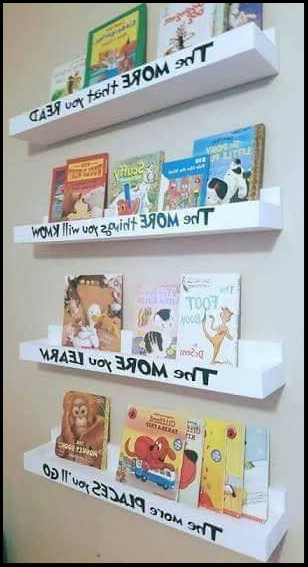 diy kids bookshelves