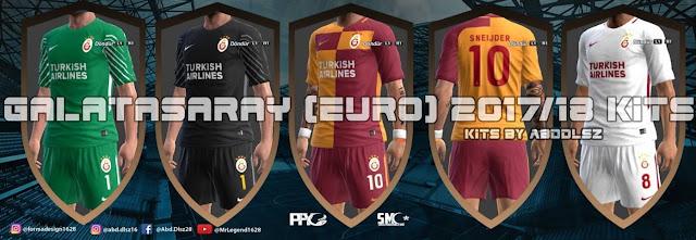 Galatasaray Euro Kit 2018 PES 2013