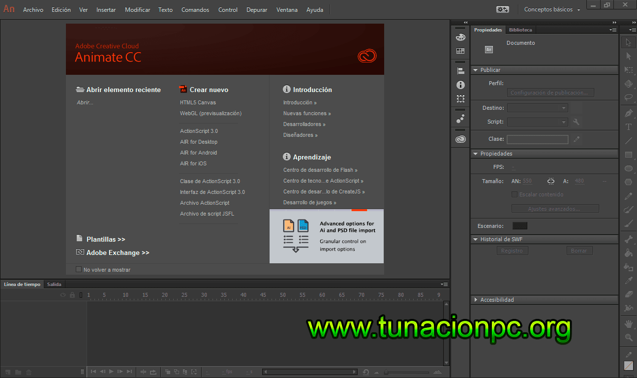 Adobe Animate CC 2015 Full Español