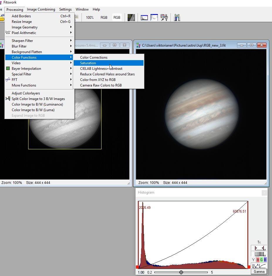 Hochauflösende Planeten- und Mondfotos erstellen