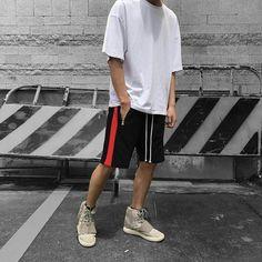 Side Strap Pants or Shorts (Single Stripe) | Teaching Men's Lifestyle