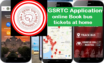 GSRTC Application, online Book bus tickets at home Application